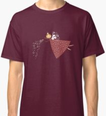 Whimsical Magical Snowflakes Fairy Classic T-Shirt