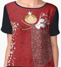 Magical Snowflakes Fairy Chiffon Top
