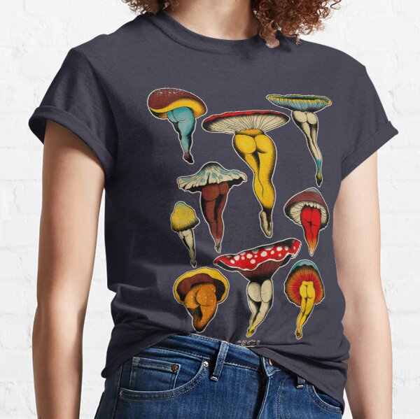 Sexy Pilze Tattoo Flash Classic T-Shirt