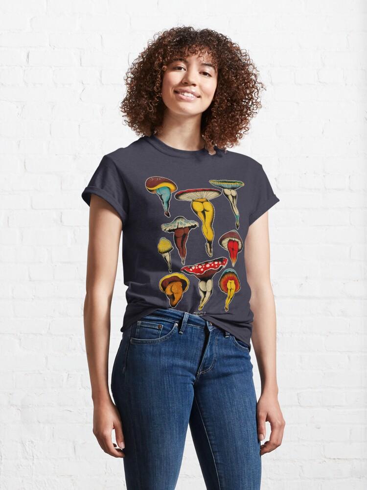 Alternate view of Sexy mushrooms tattoo flash Classic T-Shirt