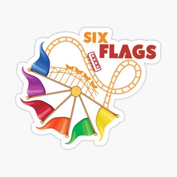 Six Flags Great Adventure Sticker