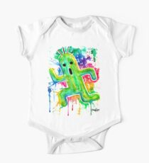 Cute Cactuar - Running Watercolor - Final fantasy - Jonny2may - Awesome!  One Piece - Short Sleeve