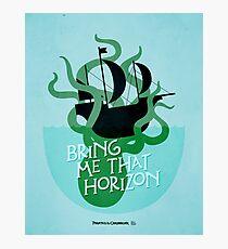 Pirates of the Caribbean Illustration Photographic Print