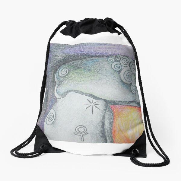 Dolmen Capstone Drawstring Bag