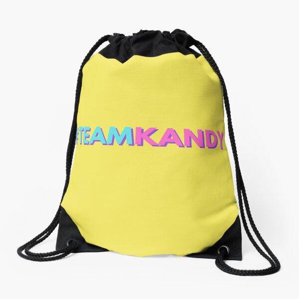 #Teamkandy, Team kandy, Kandy drag race Drawstring Bag