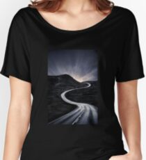 To Where The Darkness Ends Women's Relaxed Fit T-Shirt