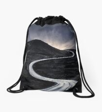 To Where The Darkness Ends Drawstring Bag