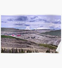Teck Highland Valley Copper Mine Poster
