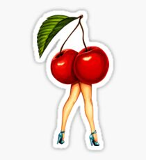 Fruit Stand - Cherry Girl Sticker
