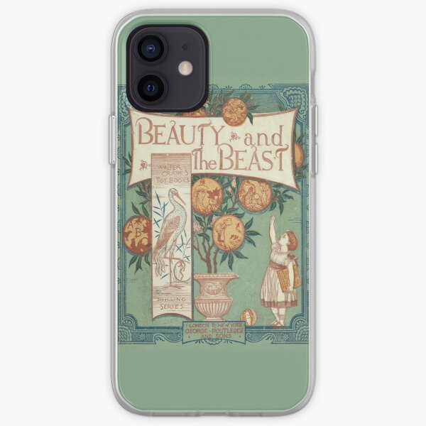 Beauty & The Beast - Walter Crane's Toy Books iPhone Soft Case
