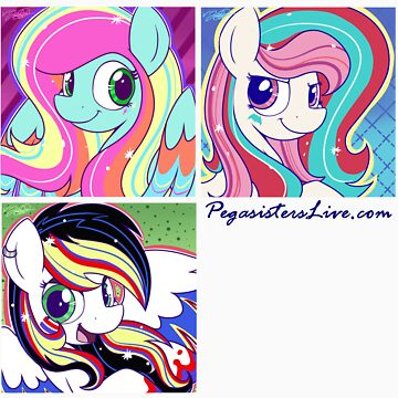 PSL's June Design - Let the Rainbow Remind You by PegasistersLive
