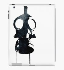Watercolor Gas Mask Design - Post Apocalyptic iPad Case/Skin