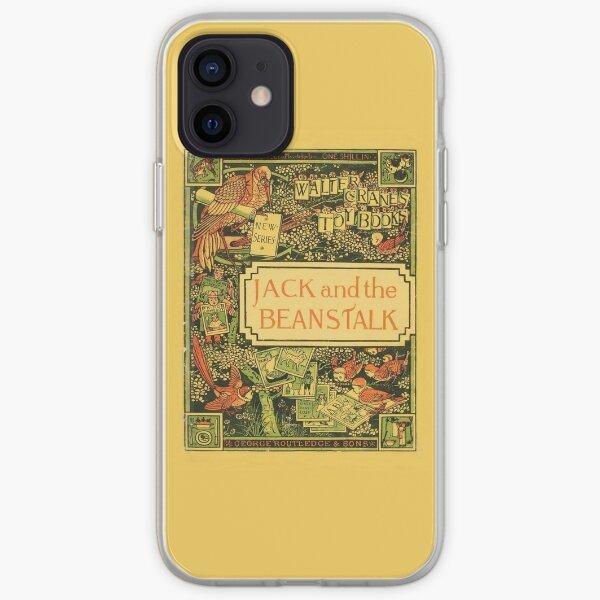 Jack & The Beanstalk - Walter Crane's Toy Books iPhone Soft Case