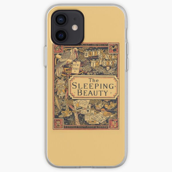 The Sleeping Beauty - Walter Crane's Toy Books iPhone Soft Case