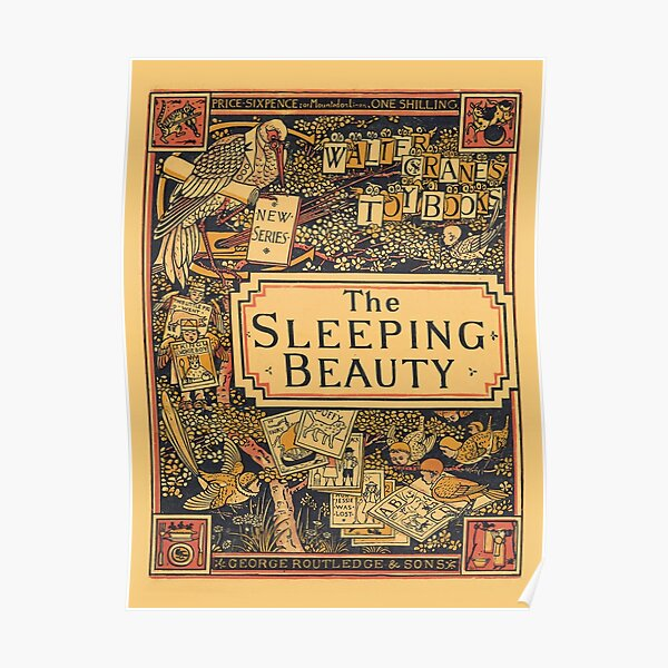 The Sleeping Beauty - Walter Crane's Toy Books Poster