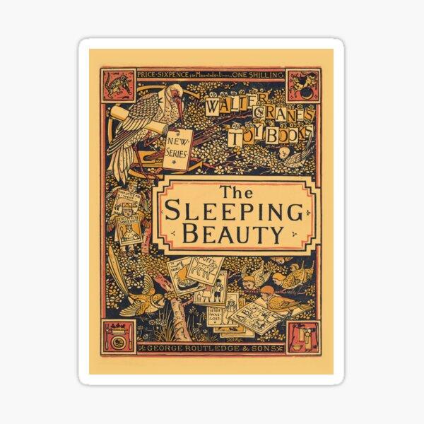 The Sleeping Beauty - Walter Crane's Toy Books Sticker