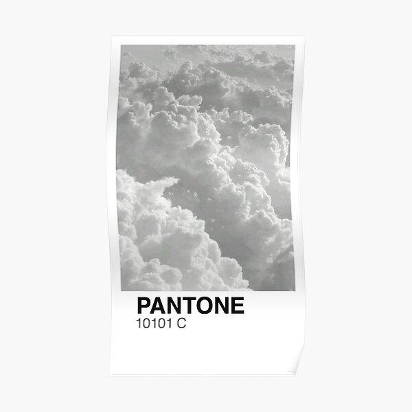 Cloud Pantone Poster