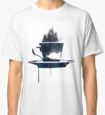 Watercolor Forest Cup of Tea Classic T-Shirt