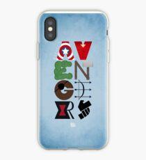 Avengers Typography iPhone Case