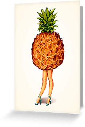 Fruit Stand - Pineapple Girl by Kelly  Gilleran