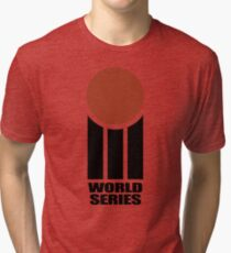 Retro Cricket Tri-blend T-Shirt