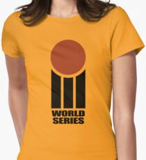 Retro Cricket Women's Fitted T-Shirt