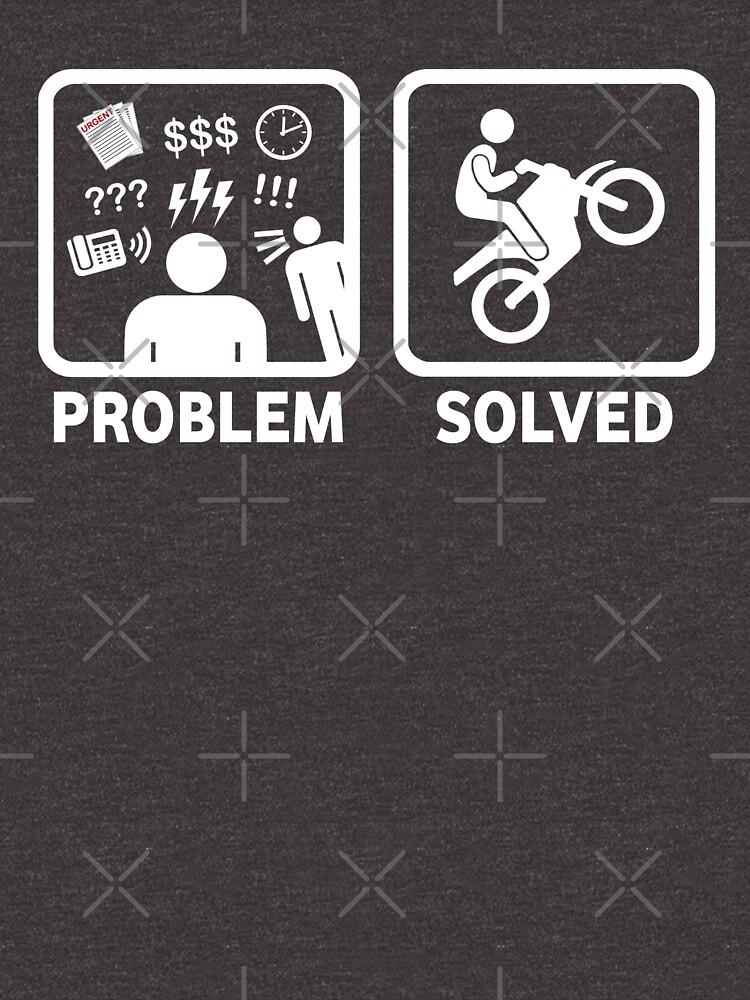 Problem gelöstes Motorrad-T-Shirt von BeyondEvolved