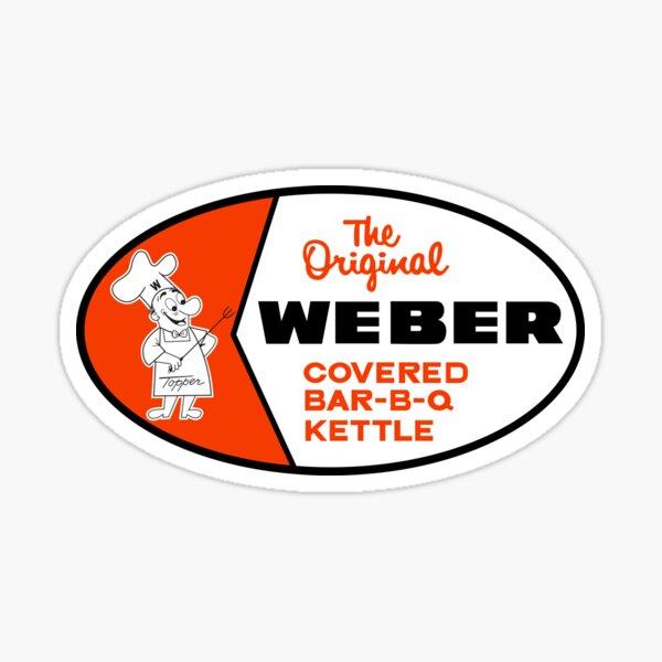 Weber Original Covered Bar-B-Que Kettle Sticker