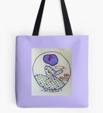 Thursday Purple Pie Baking Bonnet Lady Tote Bag