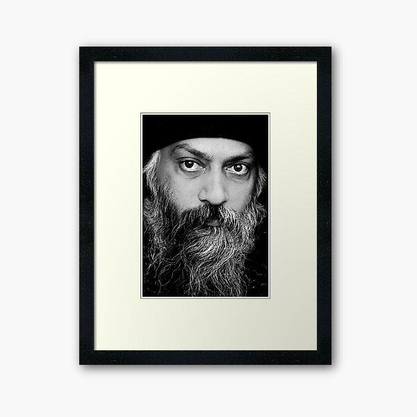 Bhagwan Rajneesh WILD WILD COUNTRY Framed Art Print