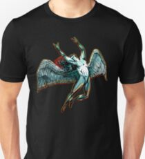 ICARUS THROWS THE HORNS - dark shadows ***FAV ICARUS GONE? SEE BELOW*** T-Shirt