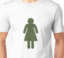Go Green! Grass Girl Unisex T-Shirt
