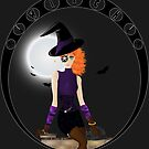 Witch - Vector by artwaste