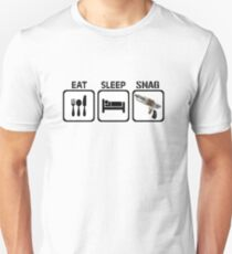 Eat, Sleep, Snag T-Shirt
