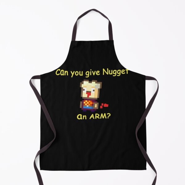 Kindergarten Game - Can You Give Nugget An Arm? Apron