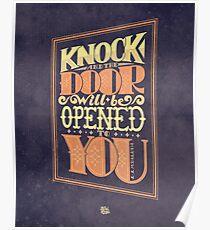 Door will be Opened Poster