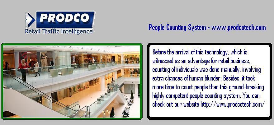 People Counting System - www.prodcotech.com by prodcotech