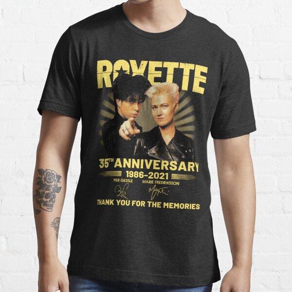 Roxette 35. Jahrestag 1986-2021 Essential T-Shirt