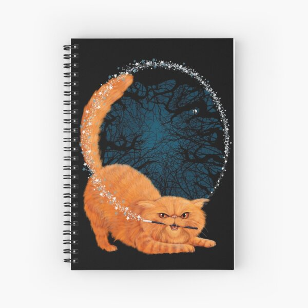 Magic Cat! Spiral Notebook