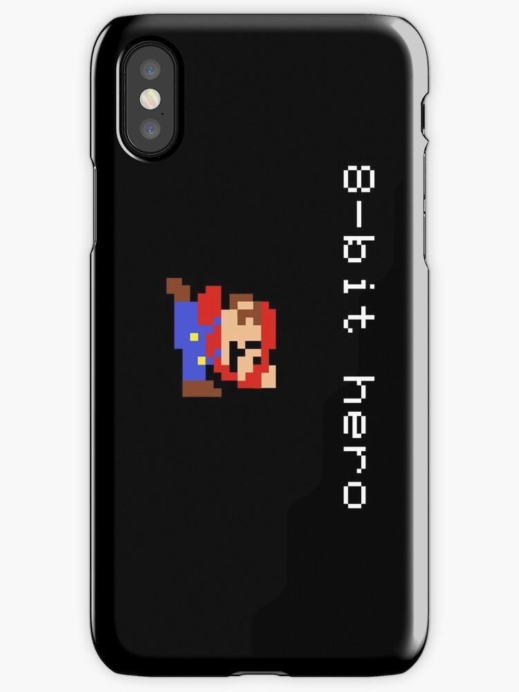 8-bit hero mario by PocketPiggy