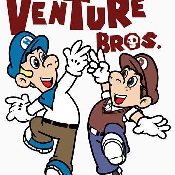 Super Venture Brothers by JBrandtDesign