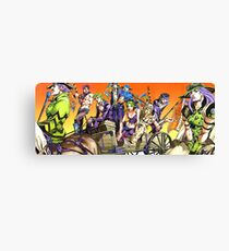JoJo Bizarre Adventure Canvas Print