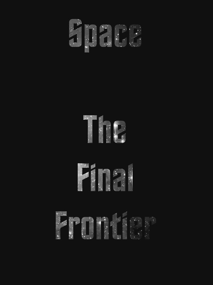 The Final Frontier by genimstilinski