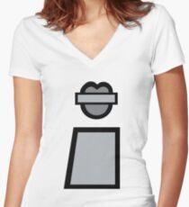 Benson Body Women's Fitted V-Neck T-Shirt