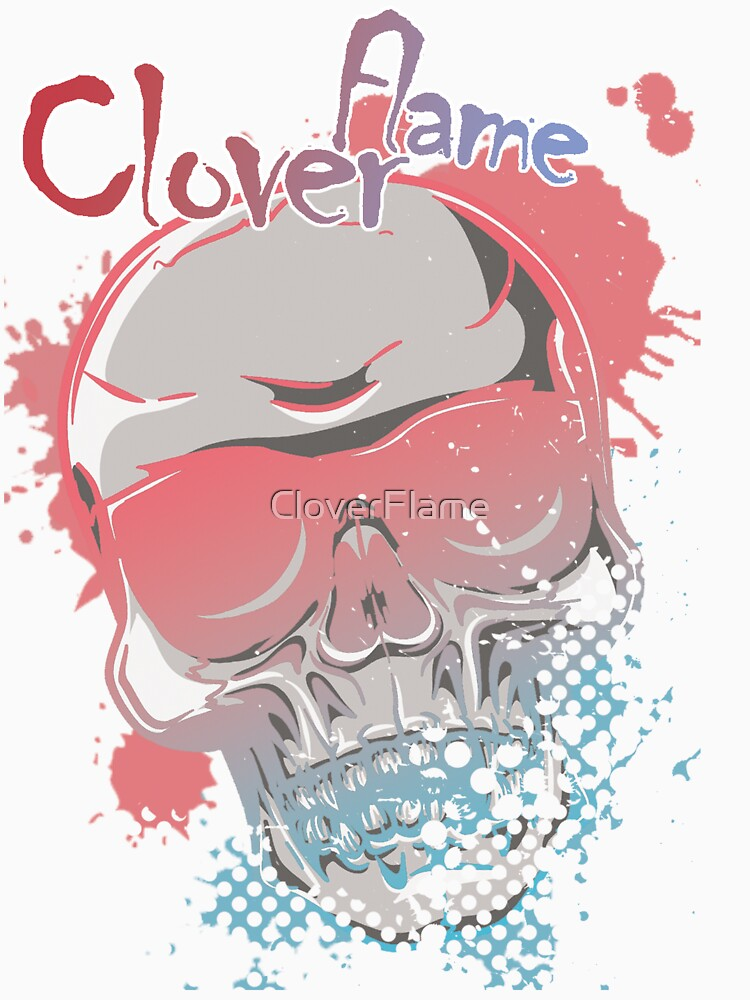 Creamy Skull by CloverFlame