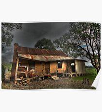 Abandoned Homestead near Myrtleford Poster