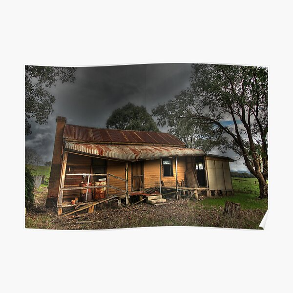 Abandoned Homestead near Myrtleford Poster