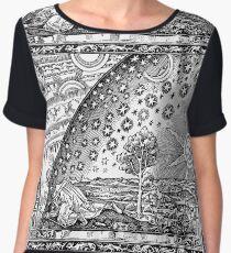 Flammarion - Psychedelic renaissance woodcut Chiffon Top
