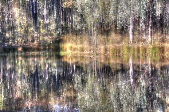 Impressions of Hill End, reflections. by Elisabeth Thorn
