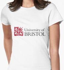 University of Bristol Logo Womens Fitted T-Shirt